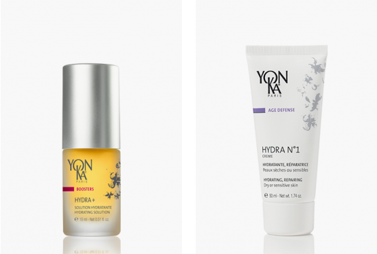 2 more yonka prodcuts. Yon-ka Hydra+ Booster £49 IN SALON. Yon-ka Hydra NO1 Cream £45 IN SALON